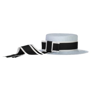 Carbon Soldier Blue Hat Bay 32 Boater Hat