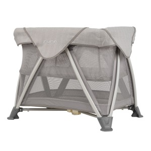 Nuna Sena Aire Mini Travel Crib in Champagne