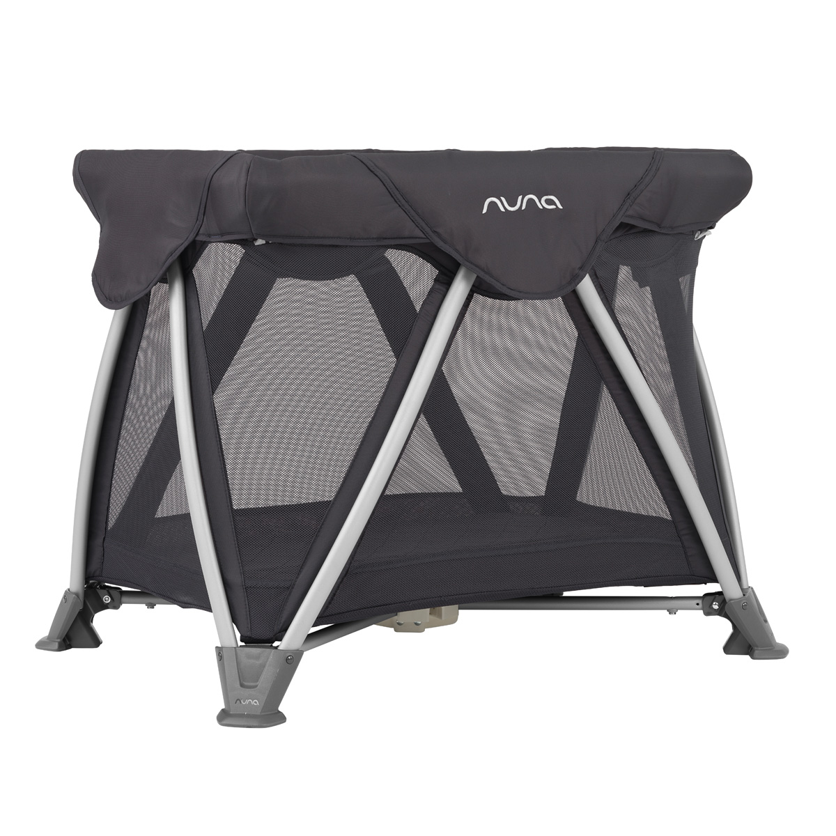 Nuna Sena Aire Mini Travel Crib in Iron