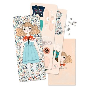 Of Unusual Kind Magnolia Paper Doll Kit