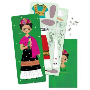 Of Unusual Kind Frida Paper Doll Kit