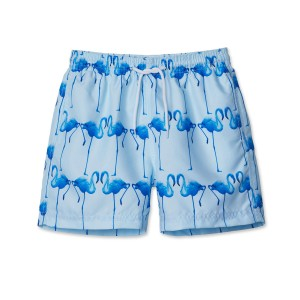 Stella Cove Swim Trunks in Blue Flamingo