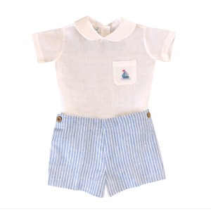 Baliene Linen Sailor Set