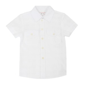 Morley Hank Charlie Shirt in White