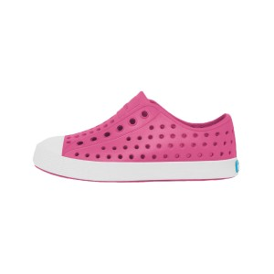 Native Shoes Kids Jefferson Sneaker Hollywood Pink_Shell White