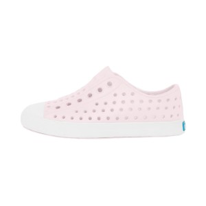 Native Shoes Kids Jefferson Sneaker_Milk Pink_Shell White