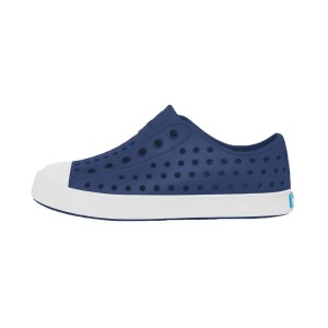 Native Shoes Kids Jefferson Sneaker Regatta Blue/Shell White