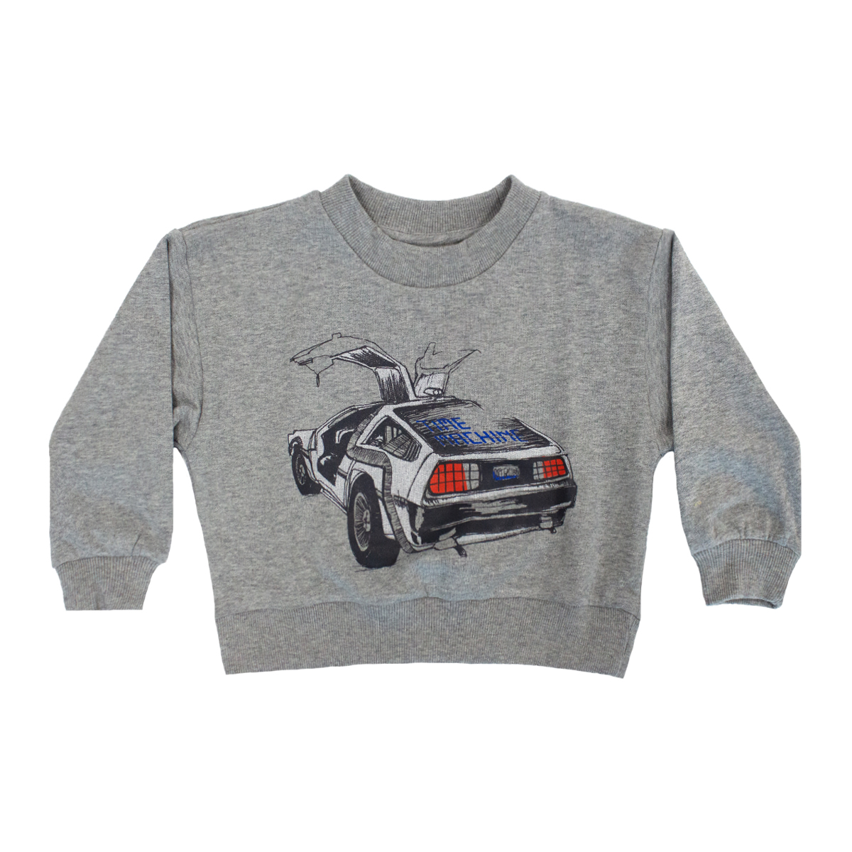 Soft Gallery Drew Sweatshirt in Delorean Grey