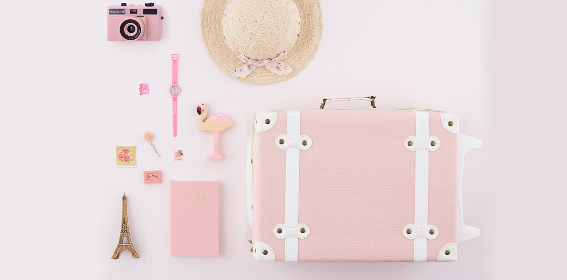 Pink baby products
