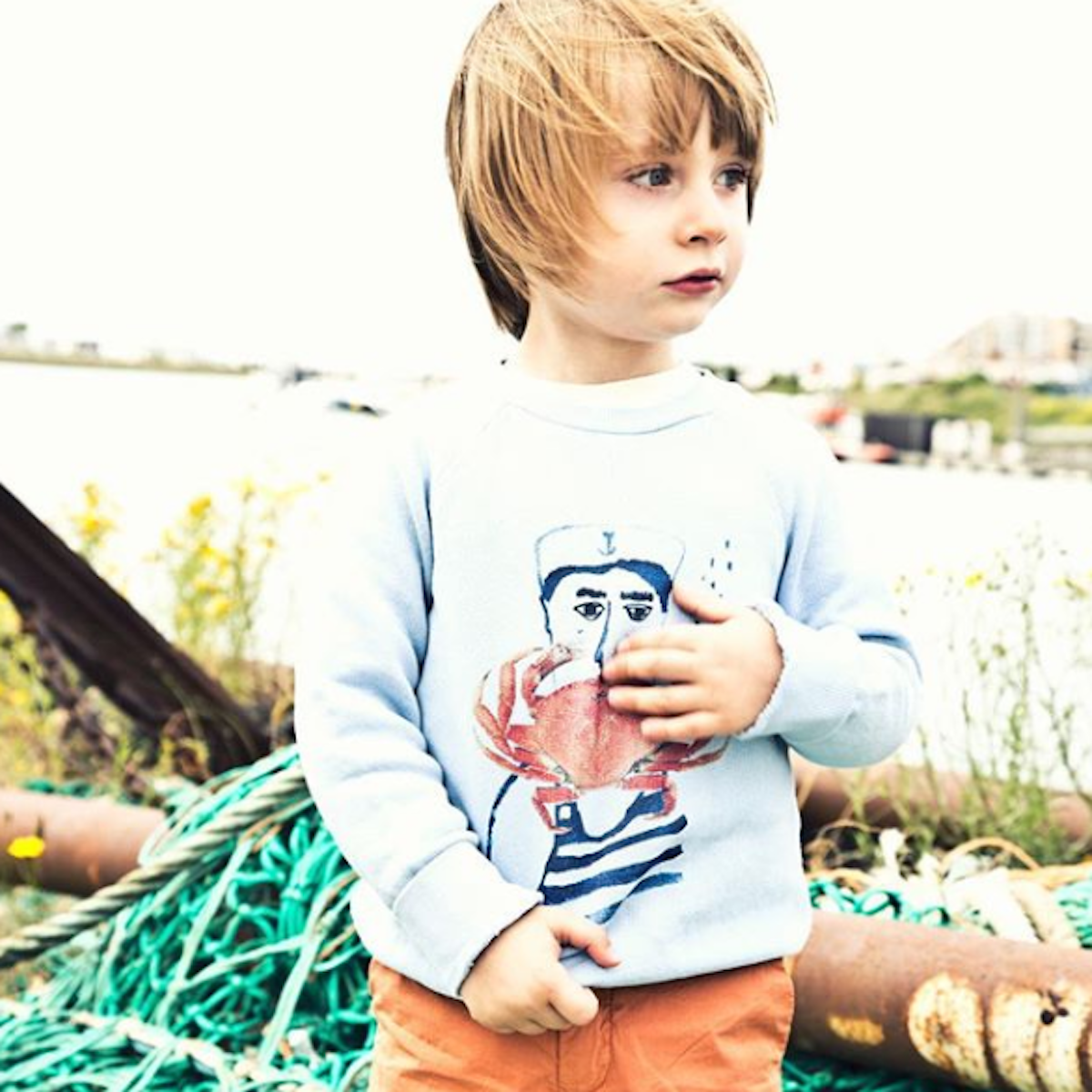 Morley Kids SS19 Nautical Pullover