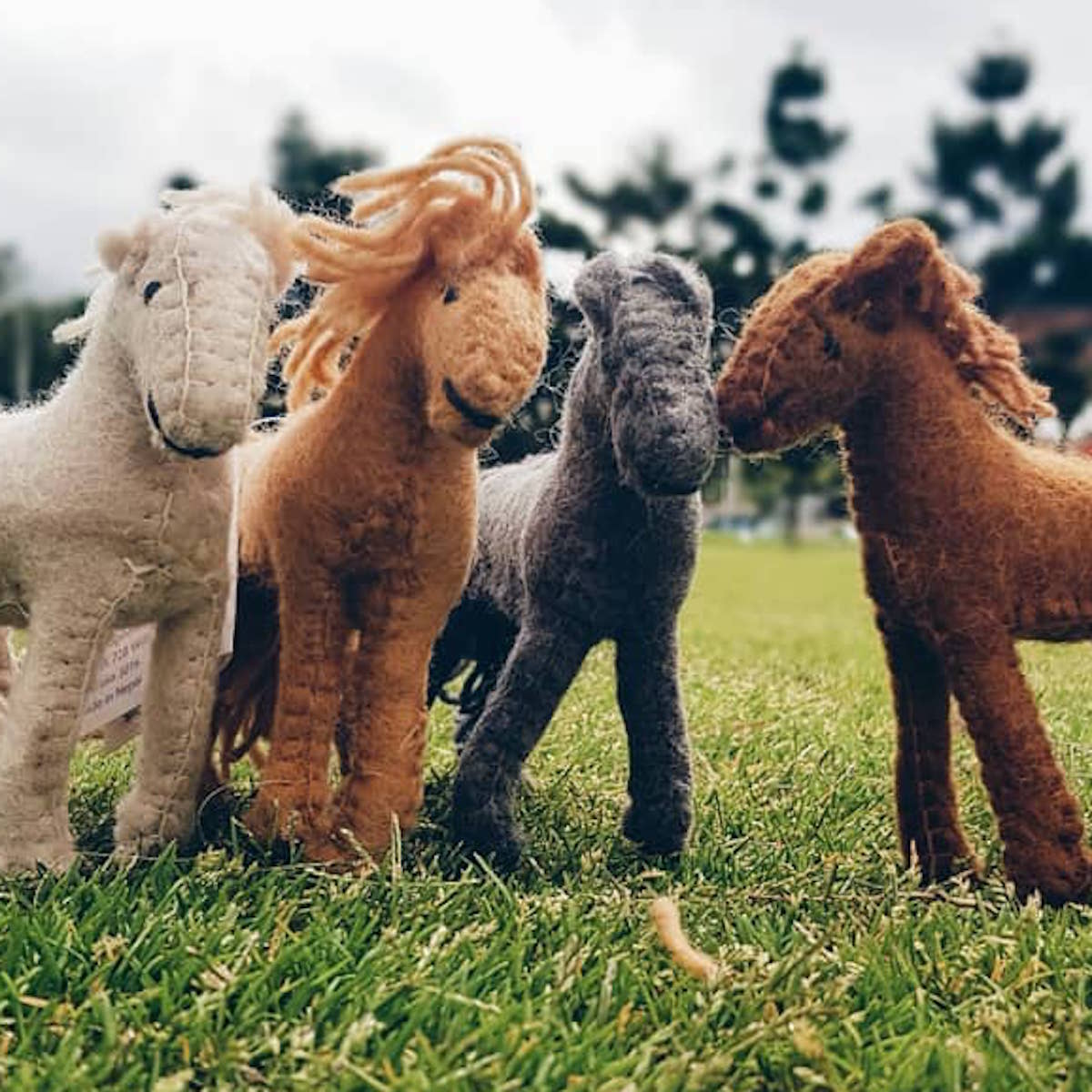 Papoose Felt Toys Horses
