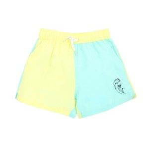 Soft Gallery Dandy Swim Shorts in Wave Color Block