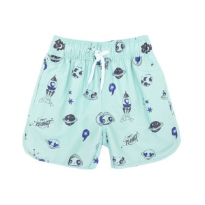 Soft Gallery Oliver Swim Shorts in Ocean Wave Space Print