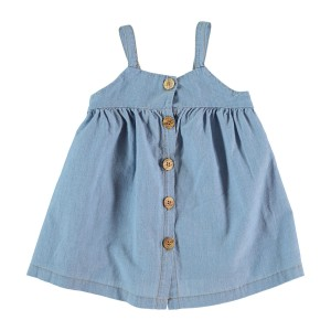 My Little Cozmo SS19 Dress in Chambray