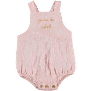 My Little Cozmo SS19 Jumpsuit Linen in Soft Pink