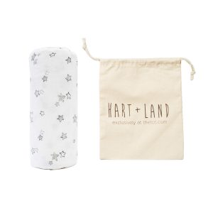 HART + LAND Organic Cotton Swaddle - Galaxy Stars