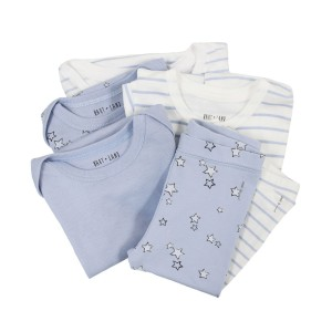 Hart & Land Boy 6 piece gift set in Blue