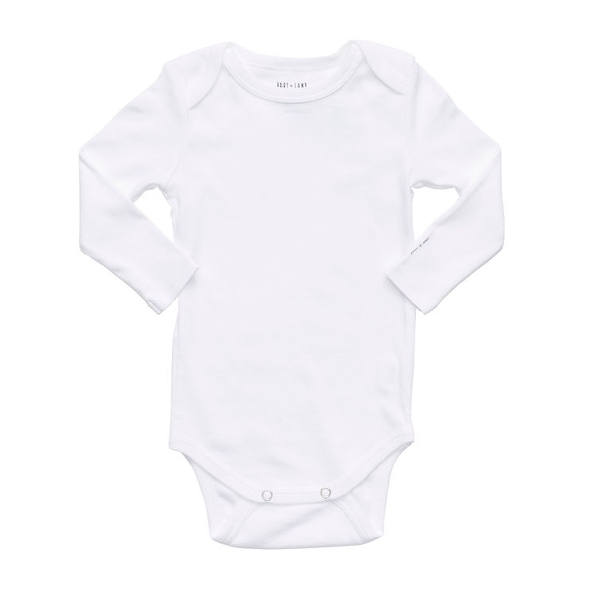 Hart + Land Long Sleeve Bodysuit in Bright White