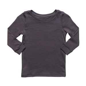 Hart + Land Long Sleeve Tee in Blackened Pearl