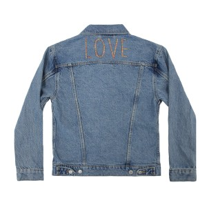 Levi's Embroidered Denim Jacket in Font 3