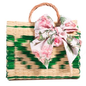 Patachou SS19 Bag Mini in Pink/Green