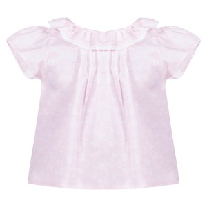 Patachou SS19 Blouse in Pink Small Flower