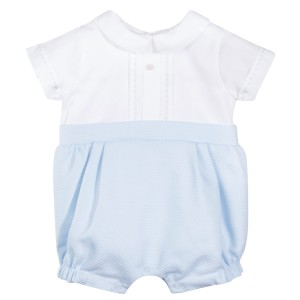 Patachou SS19 Romper in Sky Blue