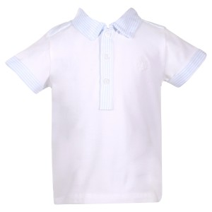 Patachou SS19 Shirt Polo in Sky Blue
