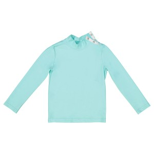 Canopea Long Sleeve Rashguard Top in Aqua Green