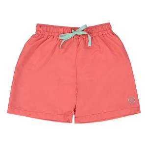 Canopea Boys Diego Swim Trunks in Fragola Red