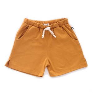 Oeuf Jersey Pocket Shorts in Ochre