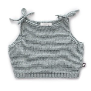 Oeuf Knit Tank in Blue Grey