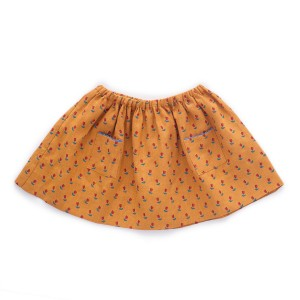 Oeuf Skirt in Ochre