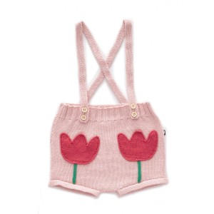 Oeuf Tulip Pocket Shorts in Pink
