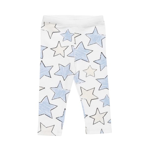 HartLandLeggingPrintLargeStarBlue1