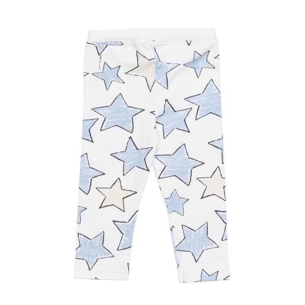 HartLandLeggingPrintLargeStarBlue2