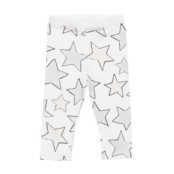 HartLandLeggingPrintLargeStarGrey1