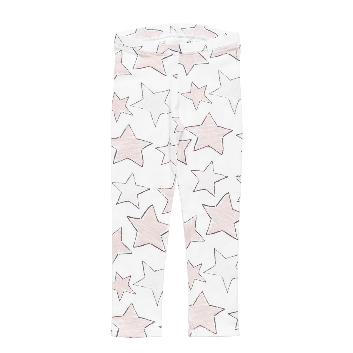 Hart + Land Legging in Large Star Print in Sepia Rose