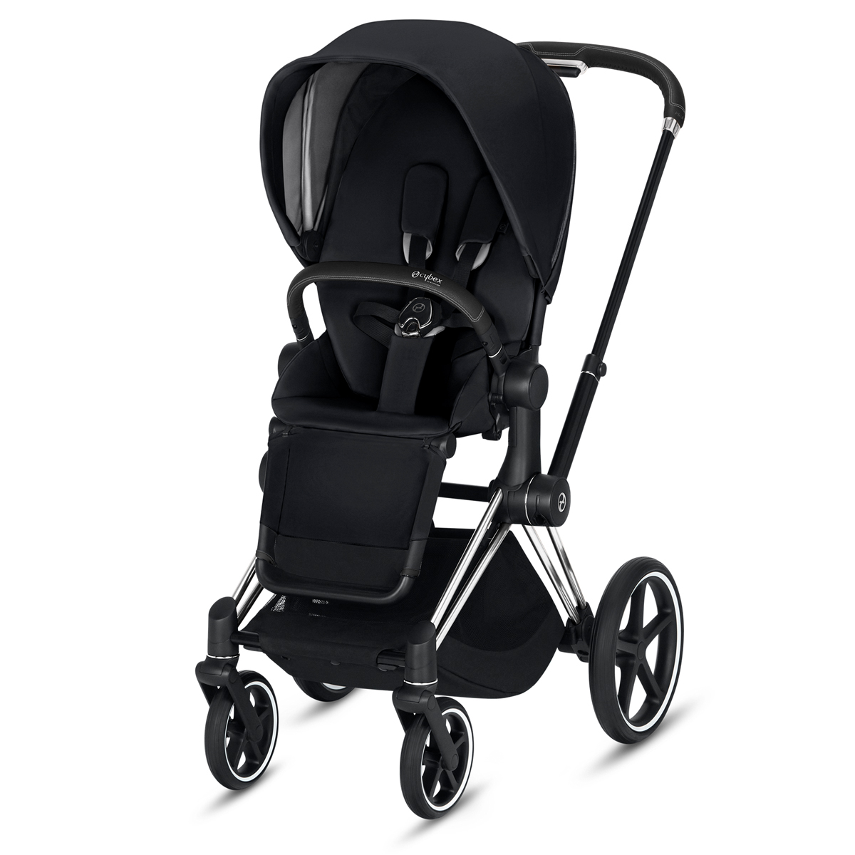 CYBEX 2019 PRIAM Chrome w/ black Frame in Premium Black