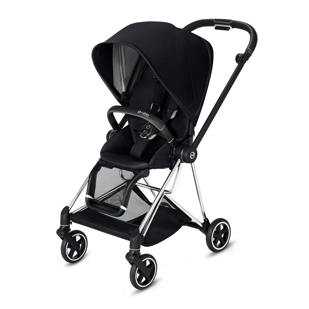 CYBEX 2019 MIOS Chrome w/ Black Frame in Premium Black