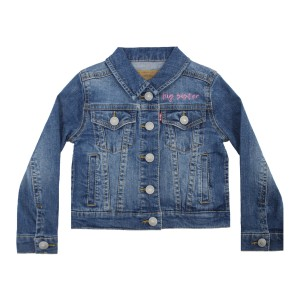 Levi's Kid's Denim Jacket with personalized embroidery in Font 7