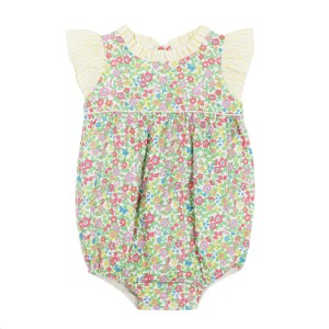 Dondolo Sleeveless Cotton Kit Bubble in Yellow Floral