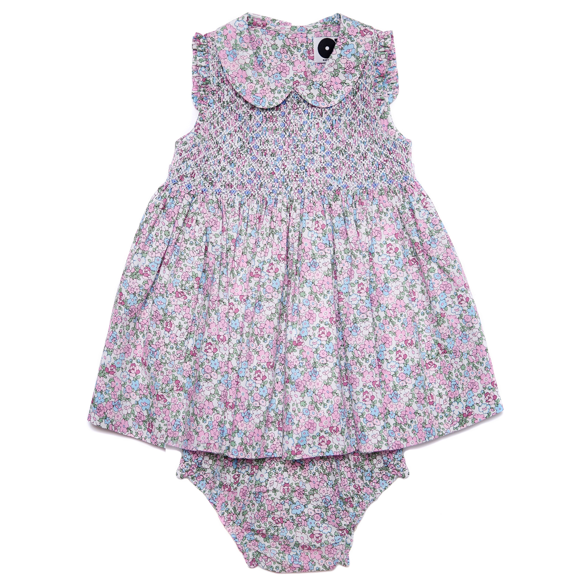 Question Everything SS19 Dress Baby Edith in Purple