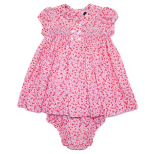 Question Everything SS19 Dress Baby Hedy in Pink/Red