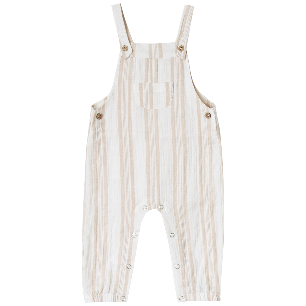 Rylee+Cru SS19 Baby Overall Sand Stripe