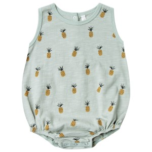 Rylee+Cru SS19 Bubble Onesie Pineapple