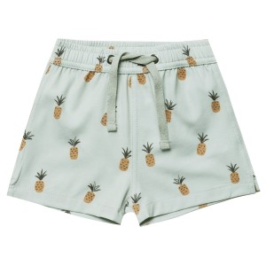 Rylee+Cru SS19 Swim Trunk Pineapples