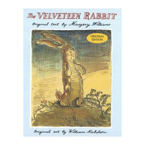 Tiny Bee Easter Velveteen Rabbit