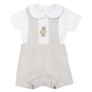 Dondolo Cotton Peter Overall Set