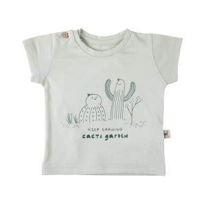 Red Caribou Keep Growing Green Lilly T-Shirt